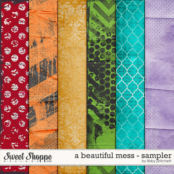 A Beautiful Mess - Sampler by Libby Pritchett
