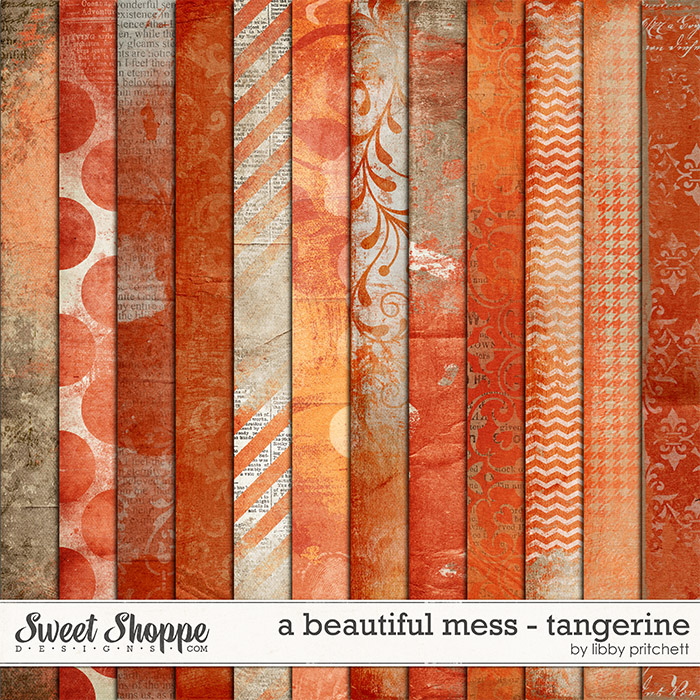 A Beautiful Mess - Tangerine by Libby Pritchett