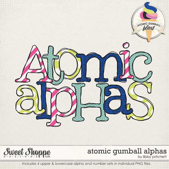Atomic Gumball Alpha by Libby Pritchett