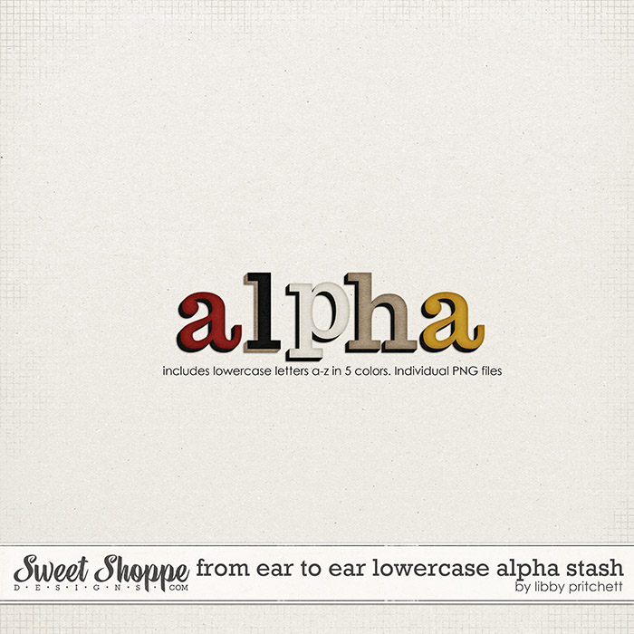 From Ear to Ear Alpha Stash by Libby Pritchett