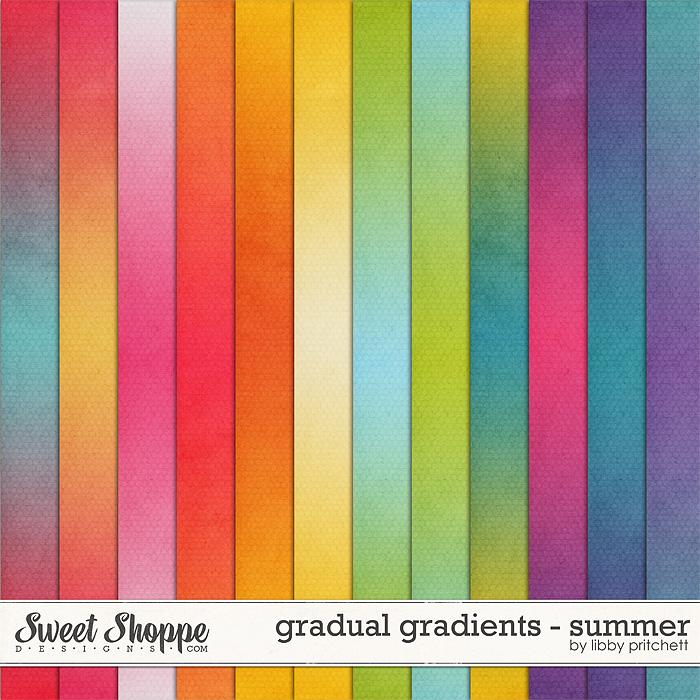 Gradual Gradients - Summer by Libby Pritchett
