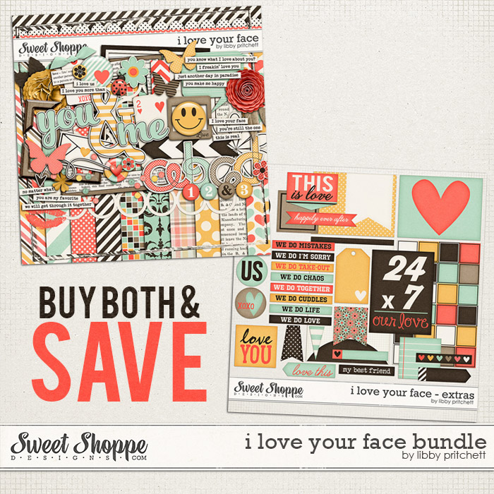 I Love Your Face Bundle by Libby Pritchett
