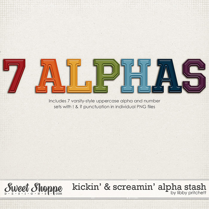 Kickin' & Screamin' Alpha Stash by Libby Pritchett