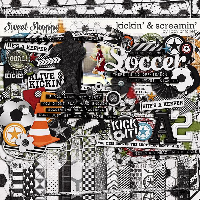 Kickin' & Screamin' by Libby Pritchett