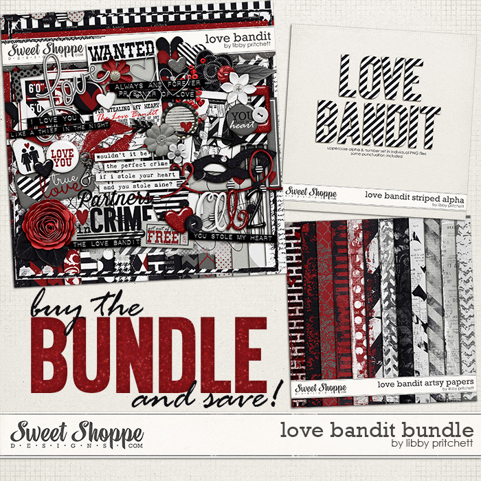 Love Bandit Bundle by Libby Pritchett
