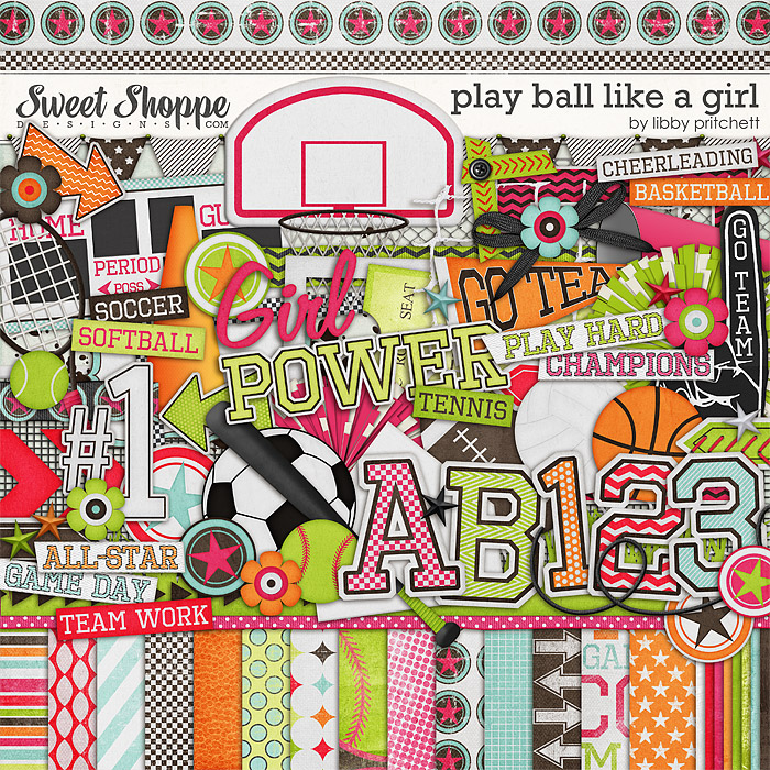 Play Ball Like A Girl by Libby Pritchett