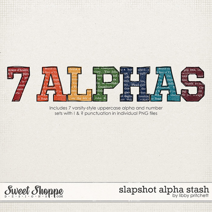 Slapshot Alpha Stash by Libby Pritchett