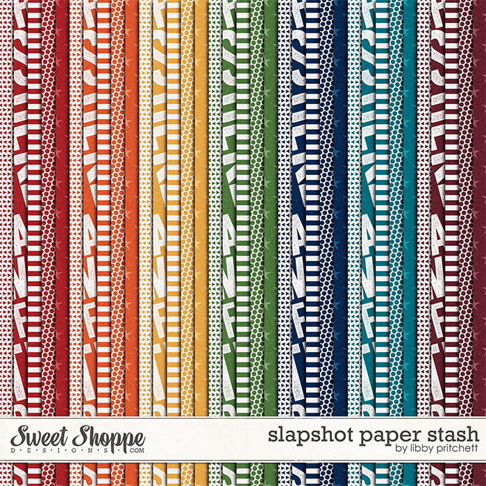 Slapshot Paper Stash by Libby Pritchett