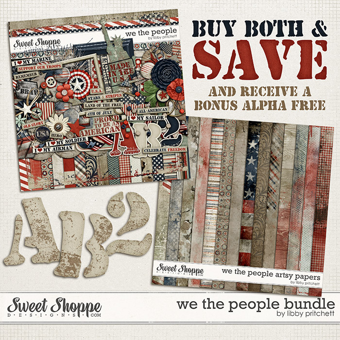 We The People Bundle by Libby Pritchett