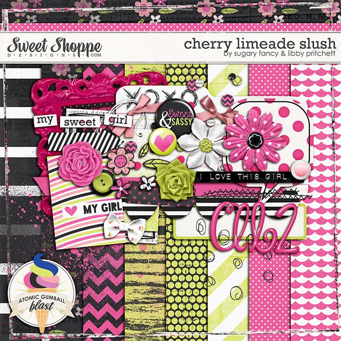 Cherry Limeade Slush by Libby Pritchett & Sugary Fancy Designs