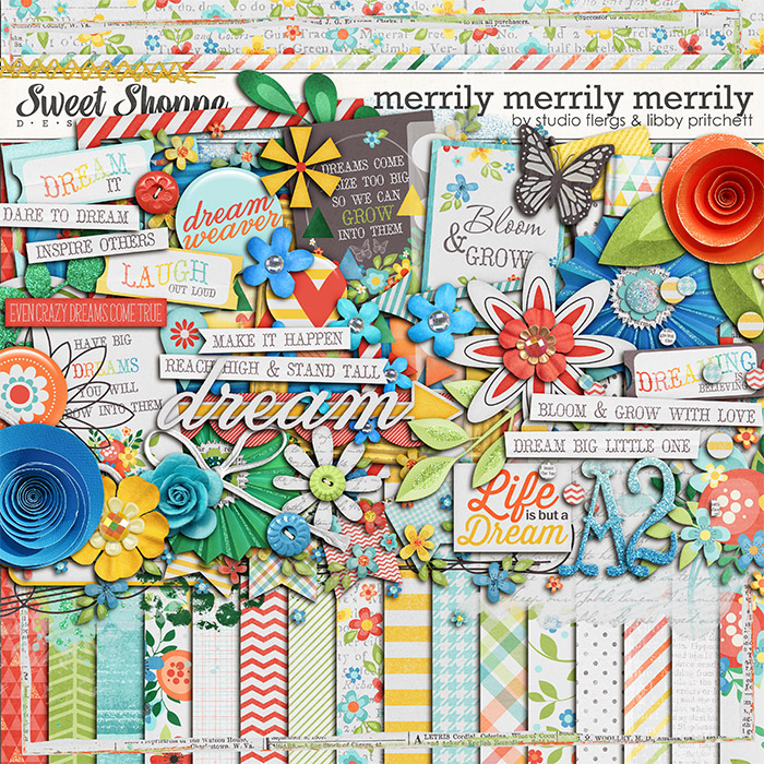 Merrily Merrily Merrily by Libby Pritchett & Studio Flergs