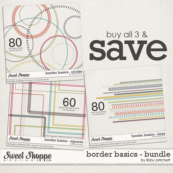 Border Basics: Bundle by Libby Pritchett