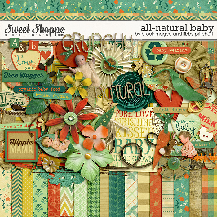 All-Natural Baby by Brook Magee & Libby Pritchett