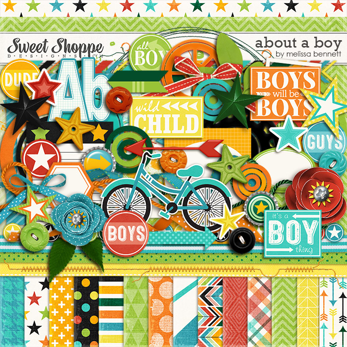 About a Boy by Melissa Bennett