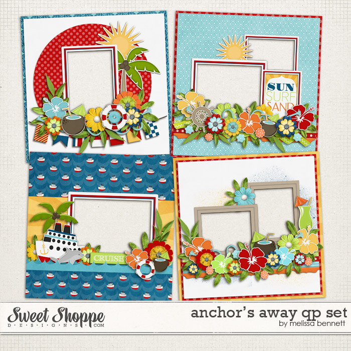 Anchor's Away QP Set by Melissa Bennett