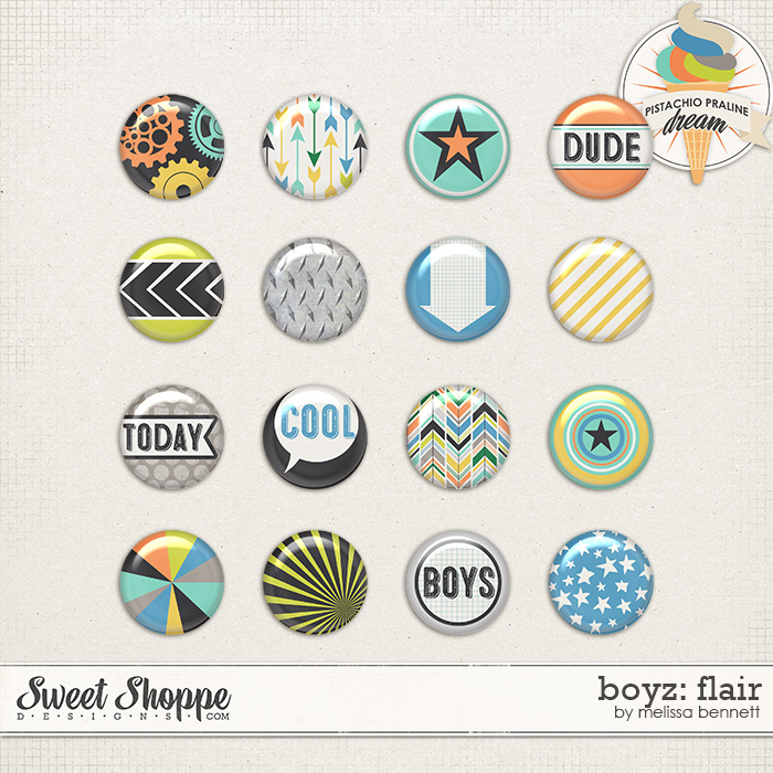 Boyz: Flair by Melissa Bennett