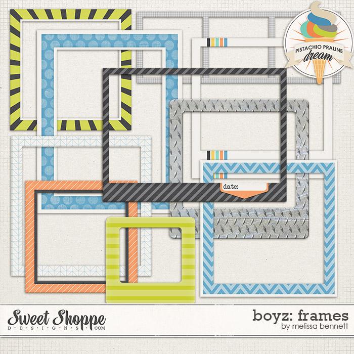 Boyz: Frames by Melissa Bennett