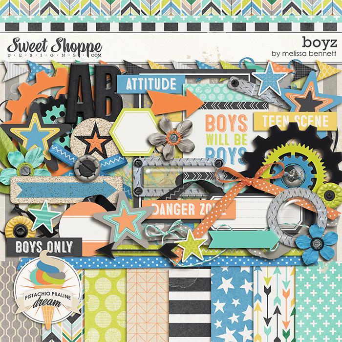 Boyz by Melissa Bennett