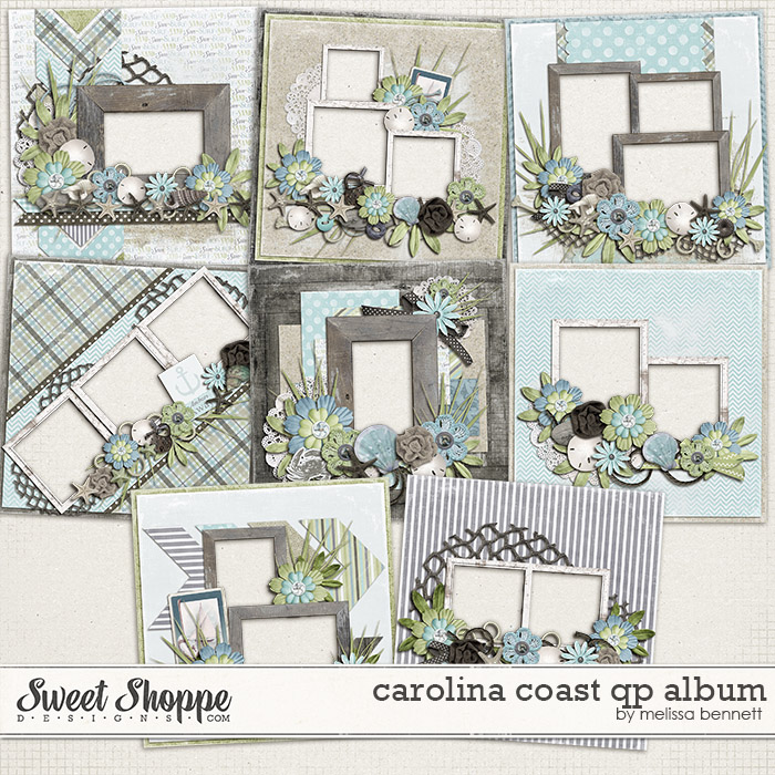 Carolina Coast QP Album by Melissa Bennett