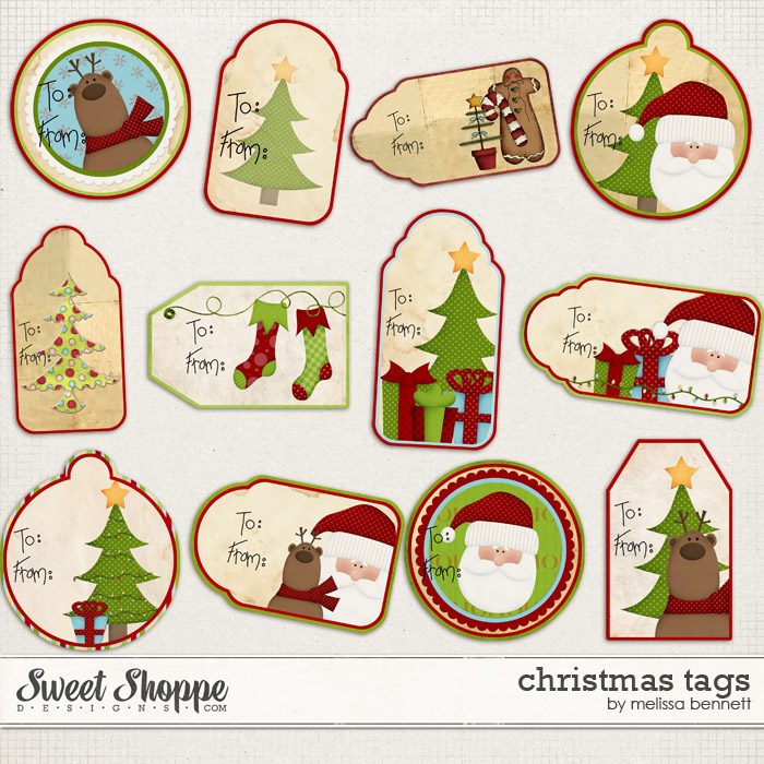 Christmas Tag by Melissa Bennett