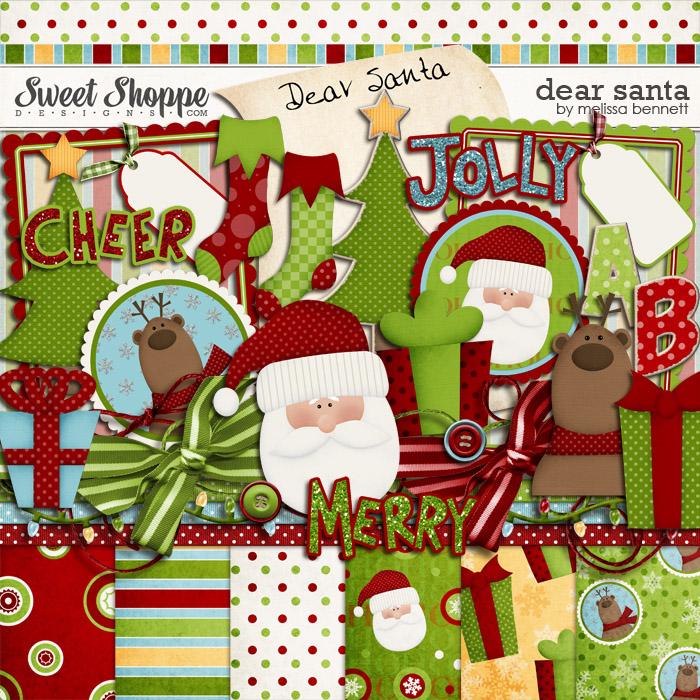 Dear Santa by Melissa Bennett