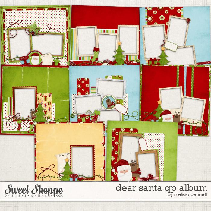 Dear Santa QP Album by Melissa Bennett