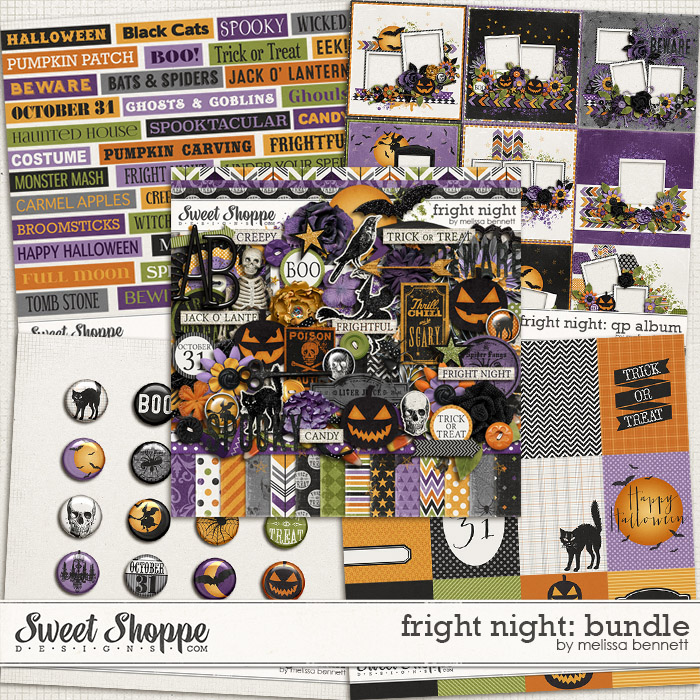 Fright Night: Bundle by Melissa Bennett
