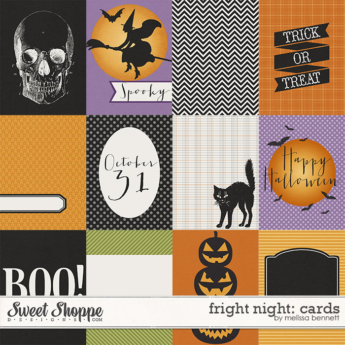 Fright Night: Cards by Melissa Bennett
