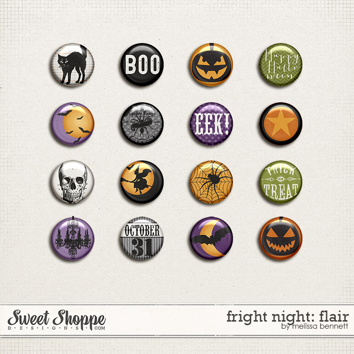Fright Night: Flair by Melissa Bennett