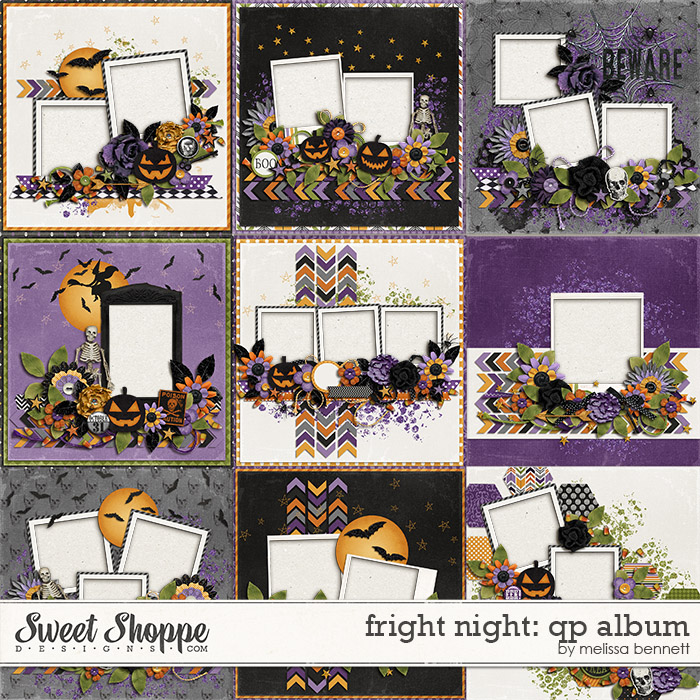Fright Night: QP Album by Melissa Bennett