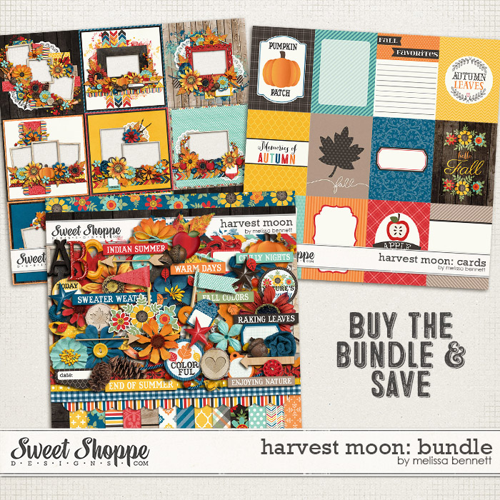 Harvest Moon Bundle by Melissa Bennett