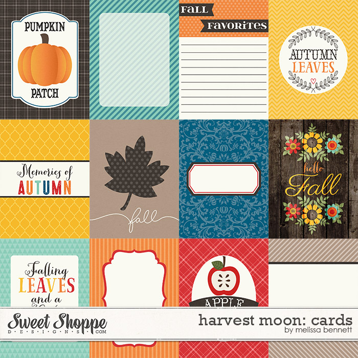 Harvest Moon Cards by Melissa Bennett