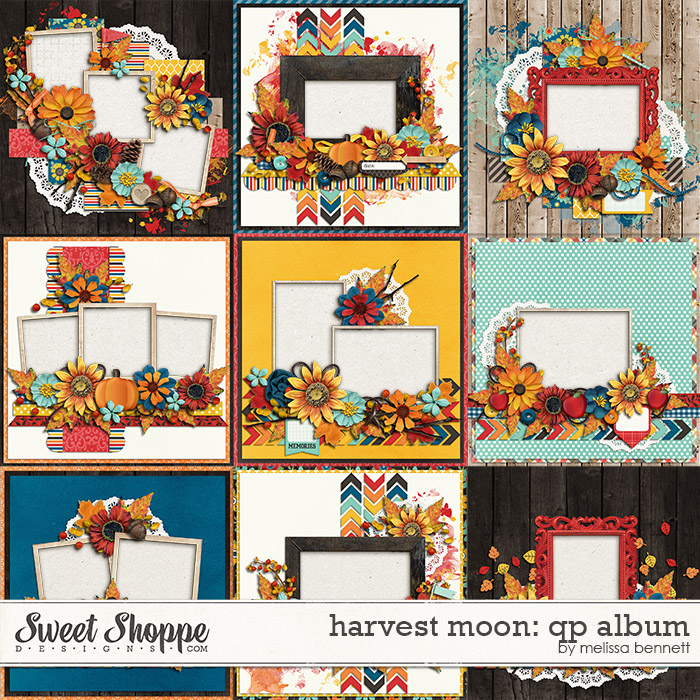 Harvest Moon QP Album by Melissa Bennett