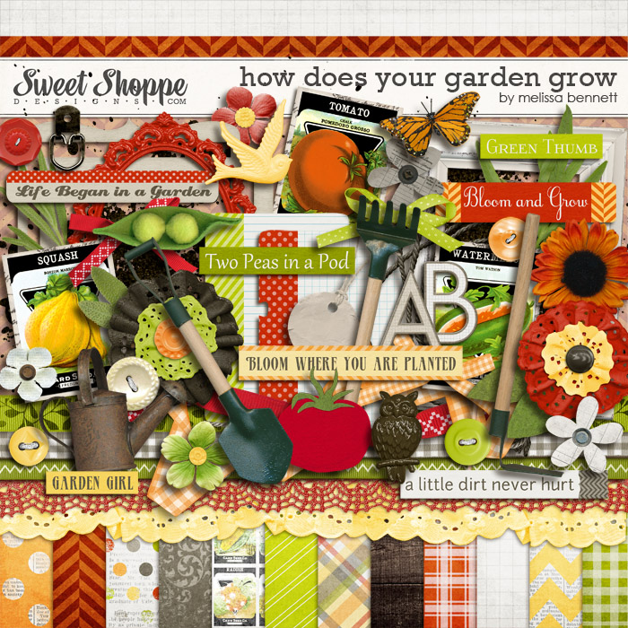 How Does Your Garden Grow by Melissa Bennett
