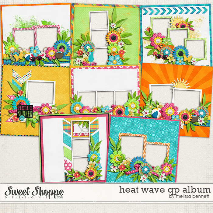 Heat Wave QP Album by Melissa Bennett