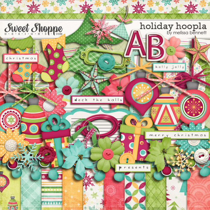 Holiday Hoopla by Melissa Bennett