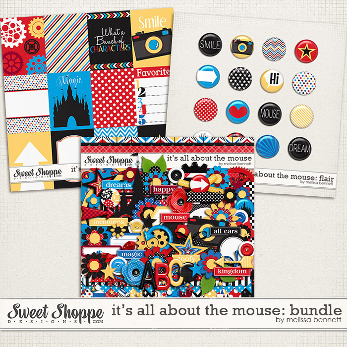 It's all about the Mouse Bundle by Melissa Bennett