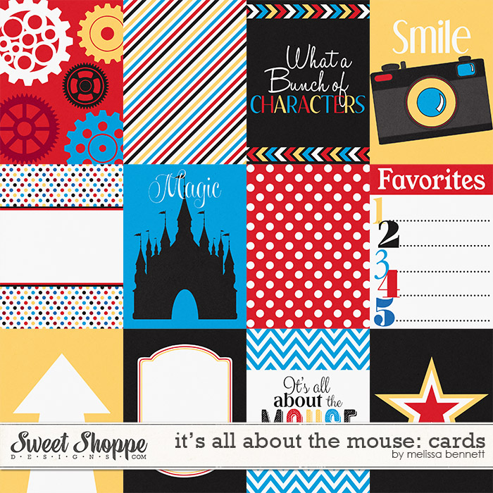 It's all about the Mouse Cards by Melissa Bennett