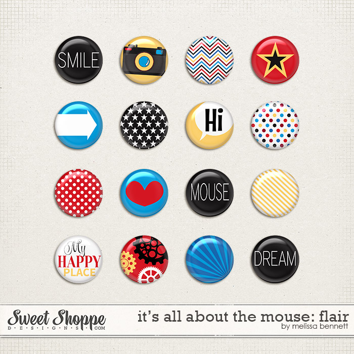 It's all about the Mouse Flair by Melissa Bennett