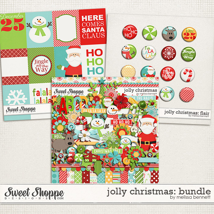 Jolly Christmas Bundle by Melissa Bennett