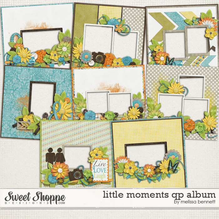Little Moments QP Album by Melissa Bennett