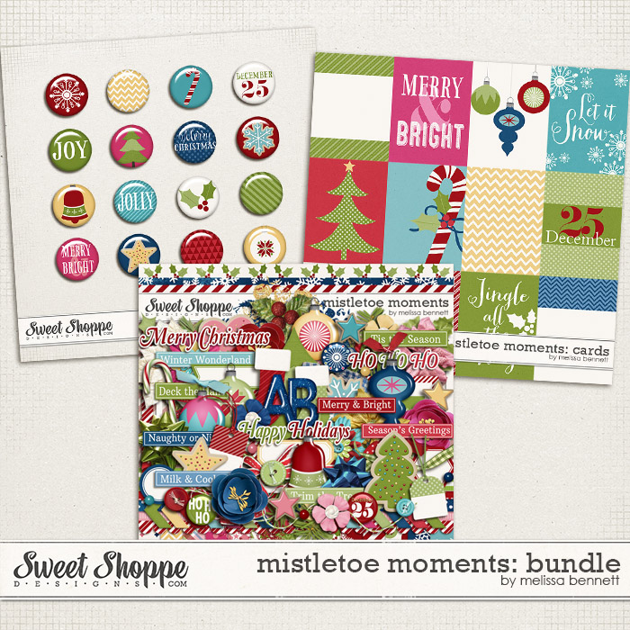 Mistletoe Moments Bundle by Melissa Bennett
