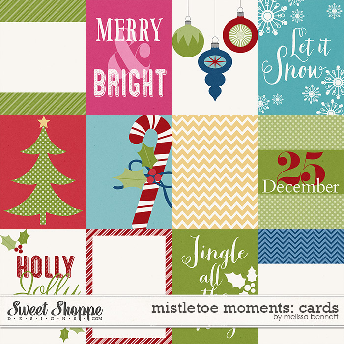 Mistletoe Moments Cards by Melissa Bennett