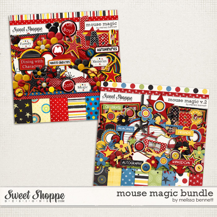 Mouse Magic Bundle by Melissa Bennett