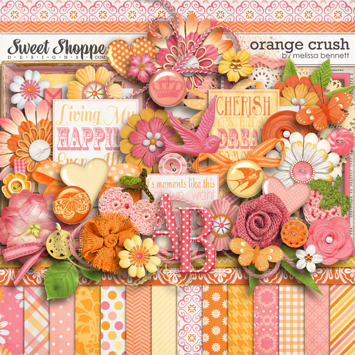 Orange Crush by Melissa Bennett