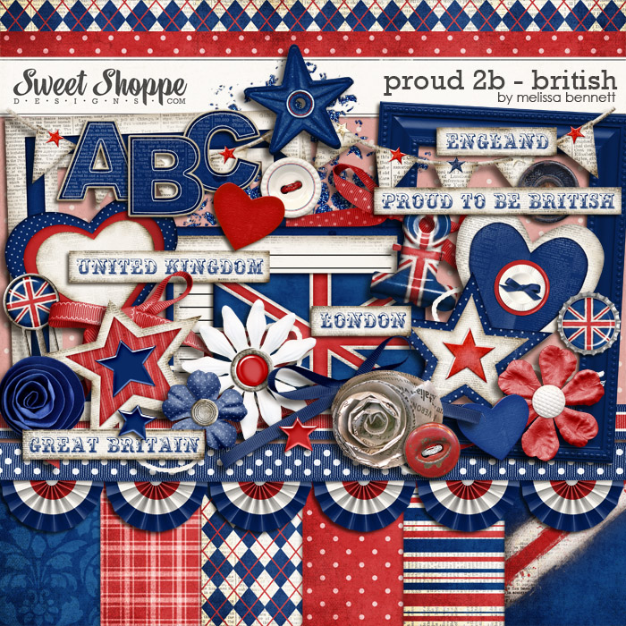 Proud 2B British by Melissa Bennett