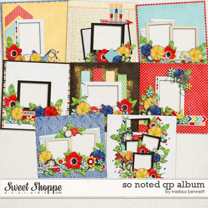 So Noted QP Album by Melissa Bennett
