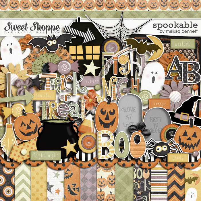 Spookable by Melissa Bennett