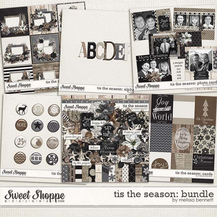 Tis The Season Bundle by Melissa Bennett