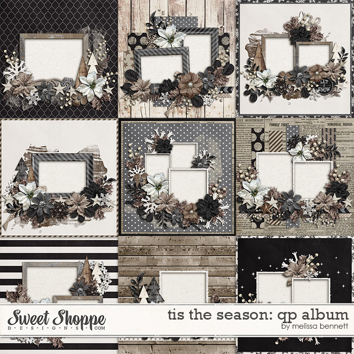 Tis The Season QP Album by Melissa Bennett